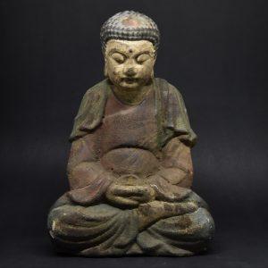 Buddha Della Compassione In Legno