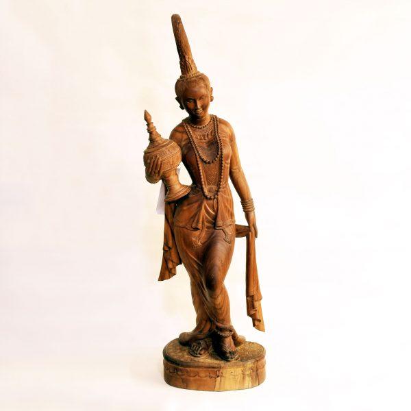 Statua Indonesiana | Dea del Riso Dewi Sri