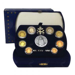 Serie Divisionale  Vaticano Proof 2002