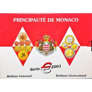 Divisionale Monaco 2001 - Serie Fdc