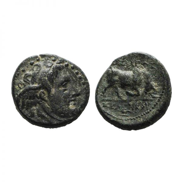 Moneta Con Medusa