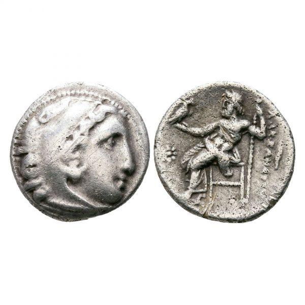 Moneta Del Regno Di Macedonia