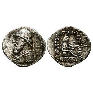 Regno Dei Parti - Mitridate II - Dracma