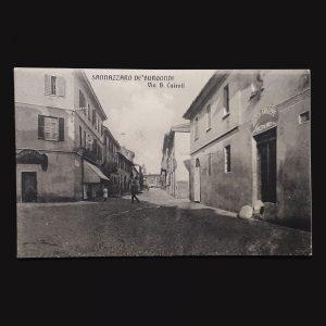 Cartolina Di Sannazzaro
