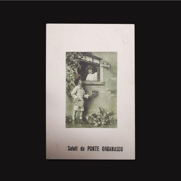 Cartolina Di Ponte Organasco