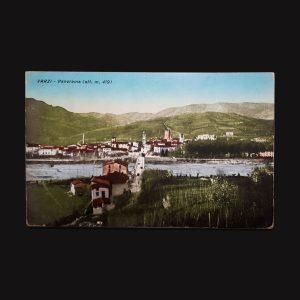 Cartolina D'Epoca Di Varzi