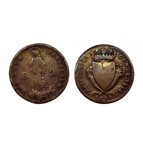 Repubblica Di Genova Del 1814