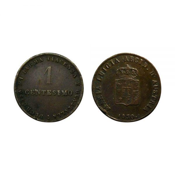 Moneta Della Zecca Di Parma