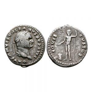 Vespasiano - Denario - Giove