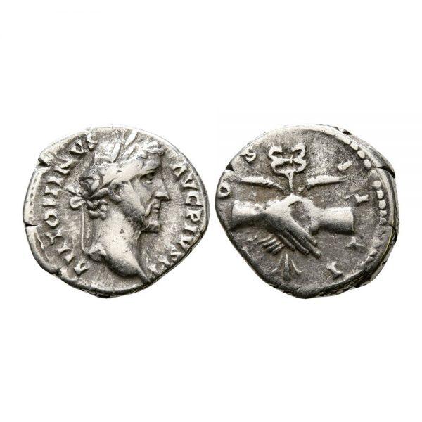 Moneta Di Antonino Pio