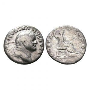 Denario Di Vespasiano