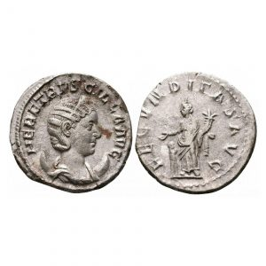 Moneta Di Erennia Etruscilla