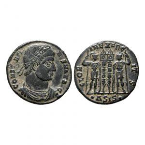 Costantino I, il Grande - Follis - Soldati