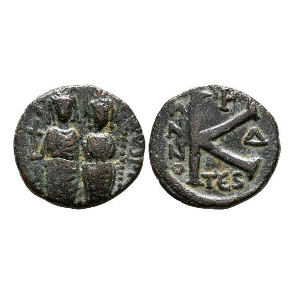 Moneta Di Giustino II E Sofia