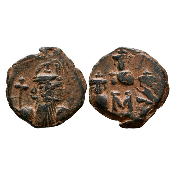 Follis Di Costante II Costantino IV Eraclio E Tiberio