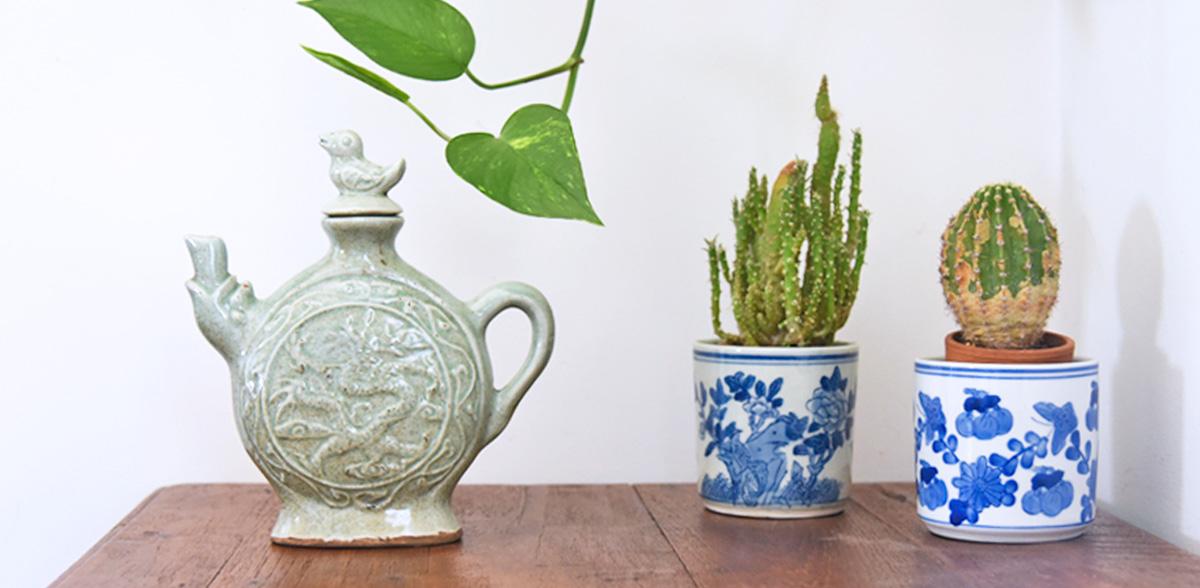 Ceramica Céladon | Ceramica cinese color giada