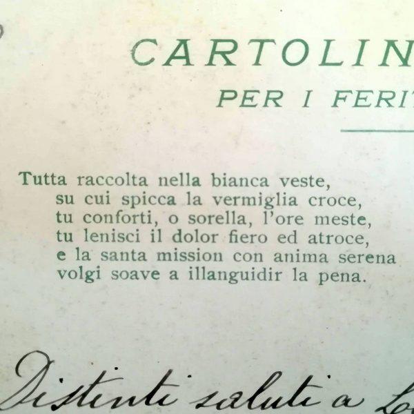 Cartolina Crocerossina
