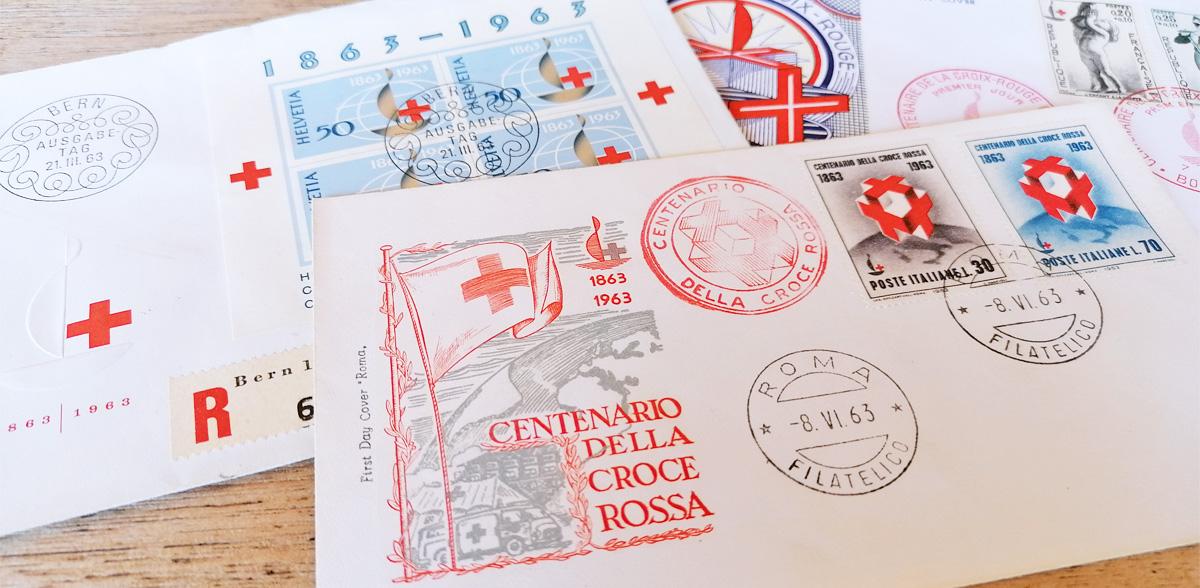 Francobolli: omaggio alla Croce Rossa | Filatelia Lottini