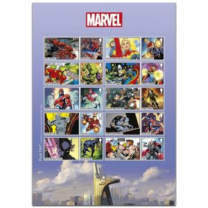 Francobolli Supereroi Marvel