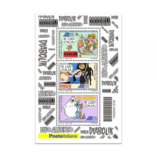 Francobollo Fumetti Italiani