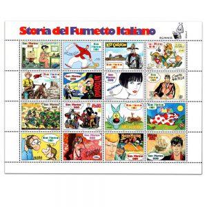 Francobolli Storia Del Fumetto Italiano