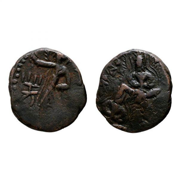 Tetradramma Dell'Impero Kushan
