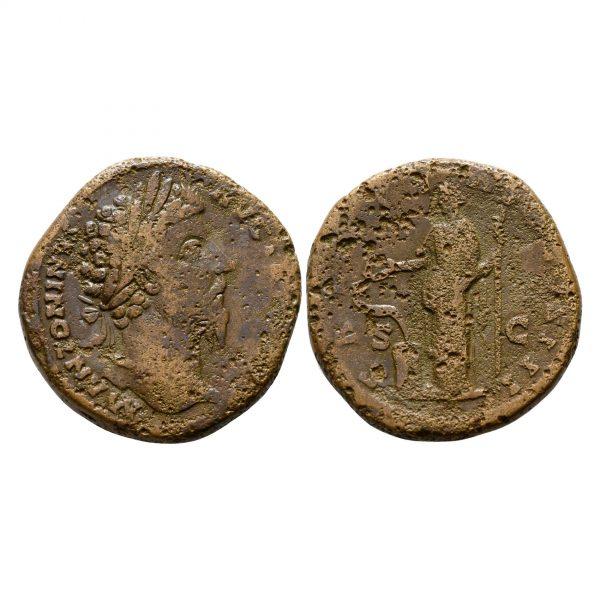 Moneta Di Marco Aurelio