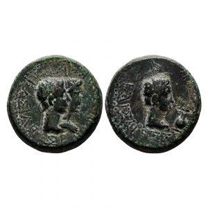 Moneta Di Augusto E Remetalce