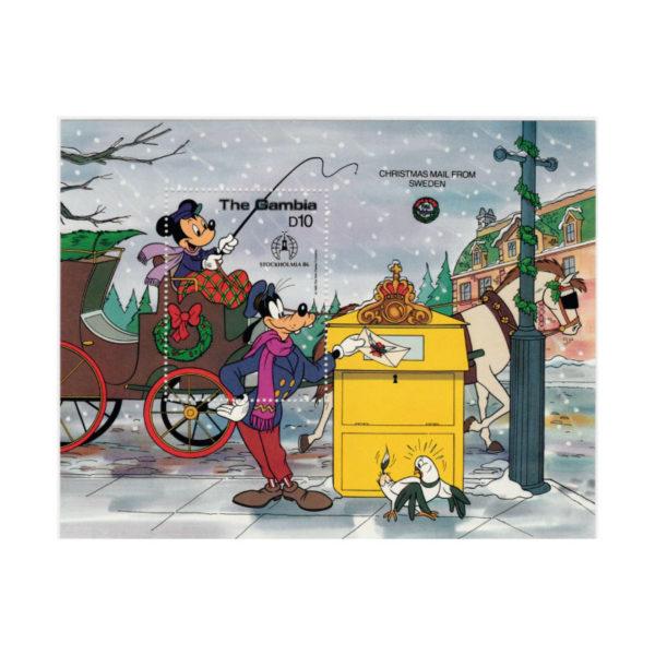 Freancobollo Di Topolino Di Natale