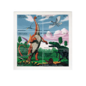 Francobolli Dinosauri
