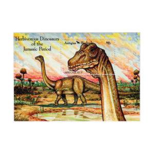 Foglietto Con Dinosauro