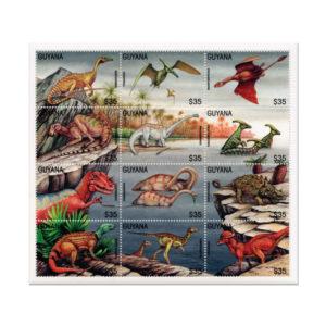 Foglietto Dinosauri