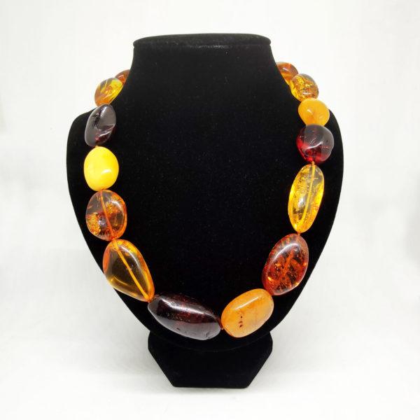 Collana Ambra Multicolore