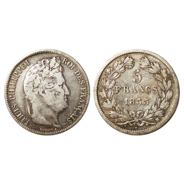Moneta Di Luigi Filippo