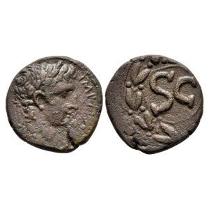 Moneta Di Augusto Di Antiochia