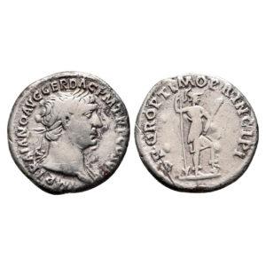 Denario D'Argento Di Traiano