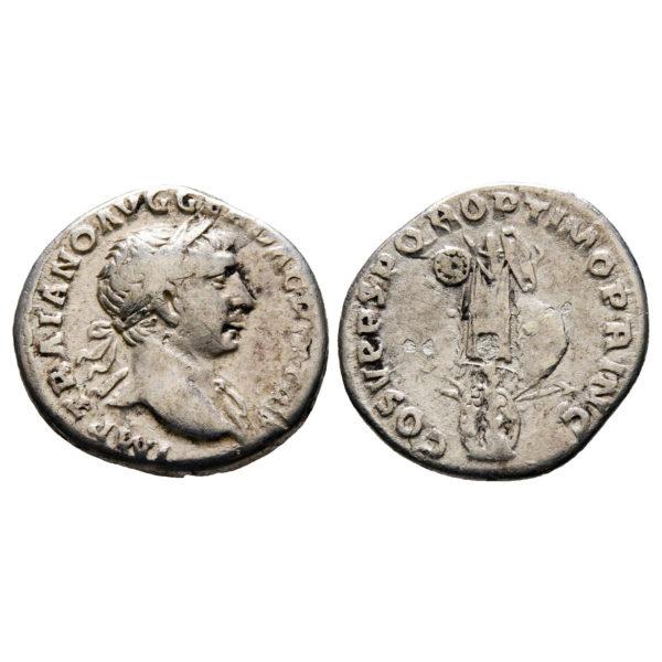 Moneta Di Traiano Rara