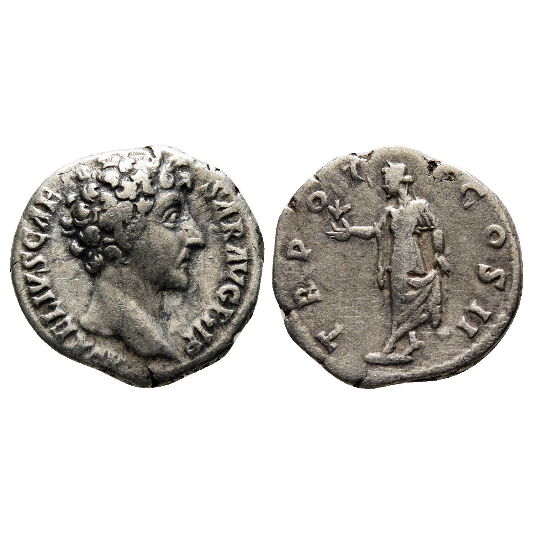 Denario Romano Di Marco Aurelio