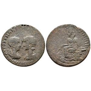 Moneta Provinciale Di Gordiano III E Tranquillina