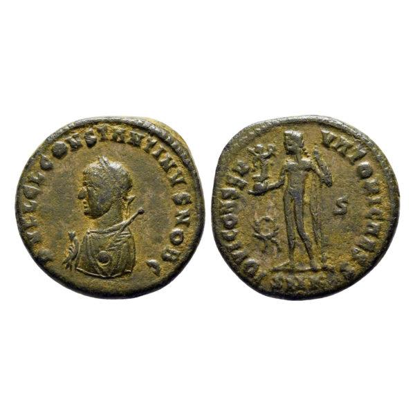 Follis Di Costantino II Come Cesare
