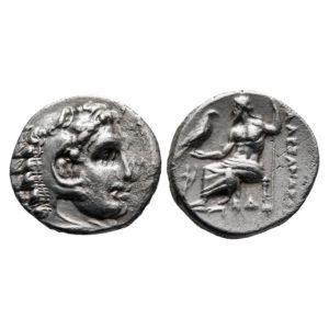 Dracma Alessandro III | Regno di Macedonia | Numismatica Lottini