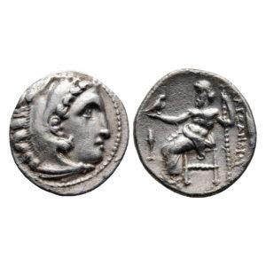 Dracma Alessandro Magno | Regno di Macedonia