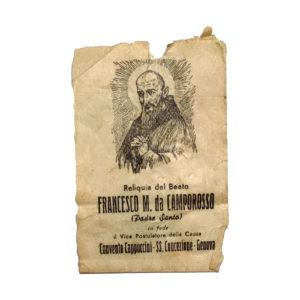 Reliquia San Francesco Da Camporosso