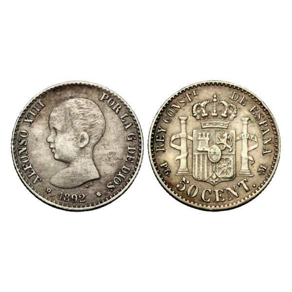Moneta Di Alfonso XIII
