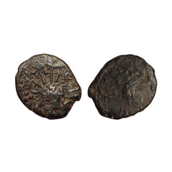 Moneta Barbarica Di Tetrico I