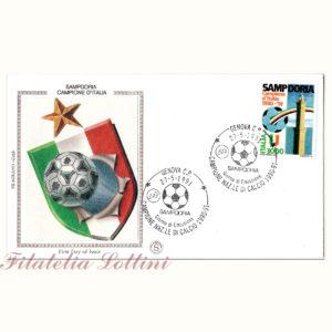 Sampdoria Campione D'Italia 1990/91