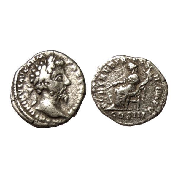 Denario Di Marco Aurelio Fortuna