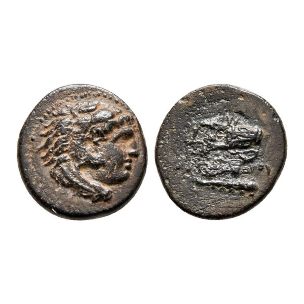 Bronzo Di Alessandro Magno