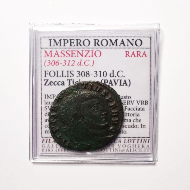 Follis Di Massenzio Ticinum