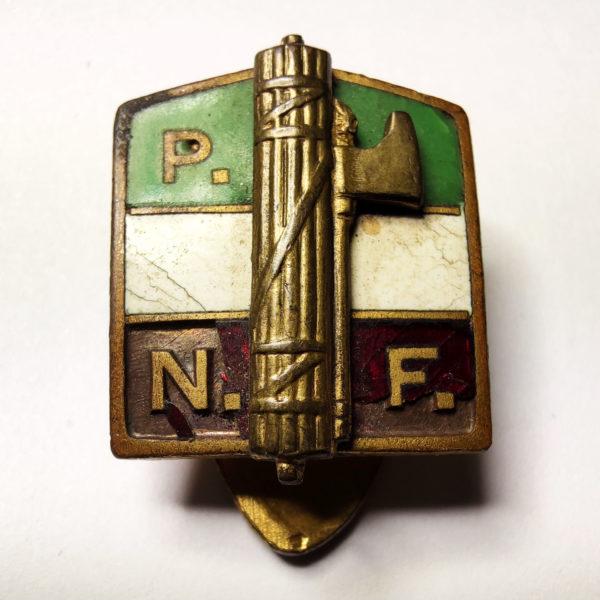 Distintivo Partito Nazionale Fascista